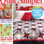 The main cover image of the spring/summer issue of Quilt Sampler magazine features an original design created by Yoder Department Store, Shipshewana.