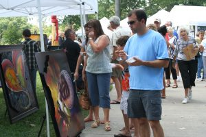 Browse amazing artwork while sampling gourmet food and enjoying music at Taste of the Gardens on Saturday, Aug. 27, 2016.