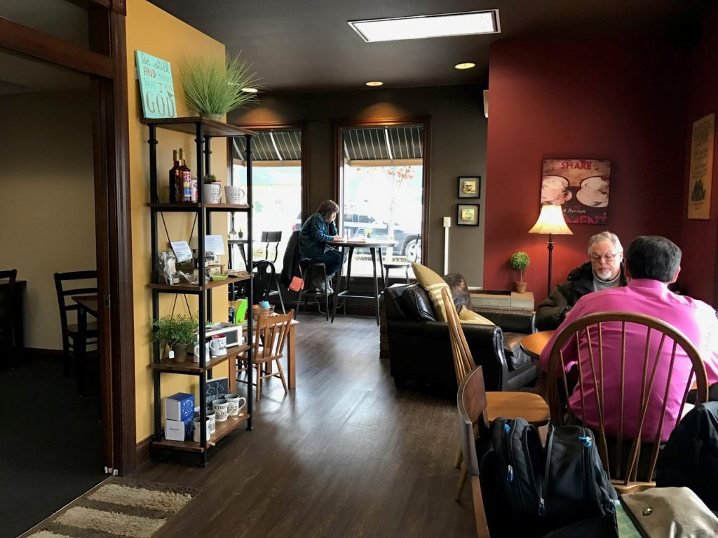 Main Street Coffee House has an inviting, relaxed atmosphere -- perfect for losing yourself in a good read. (Photo Supplied)