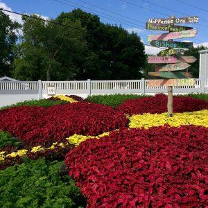 Nappanee Center Quilt Garden