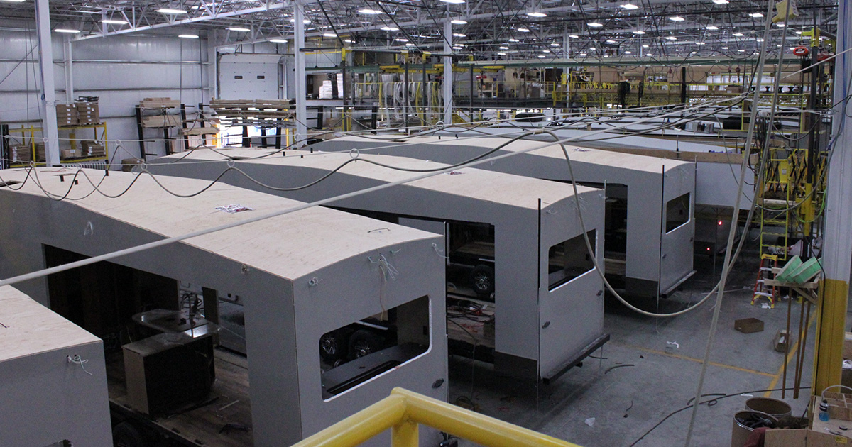 Jayco RV Manufacturing Tour and Facility