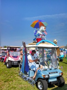 OIB July 4 golf cart parade 2