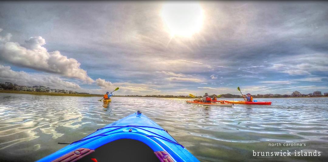 Kayaking NC's Brunswick Islands