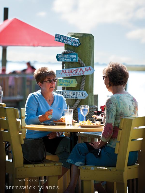 waterfront dining at Fishy Fishy