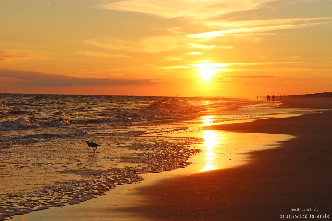 Sunset Holden Beach