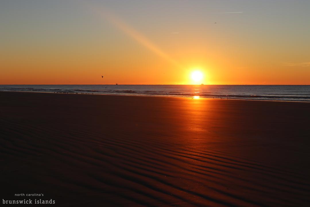 sunrise on sunset