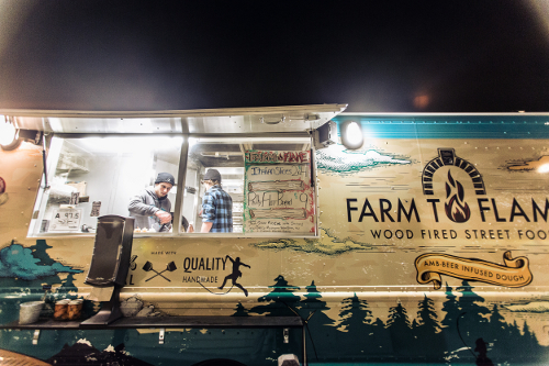 Farm to Flame food truck