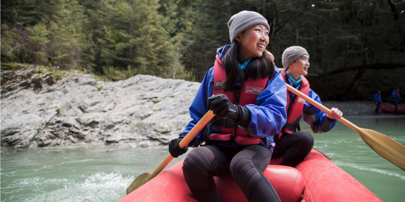 Funyak dart river adventure