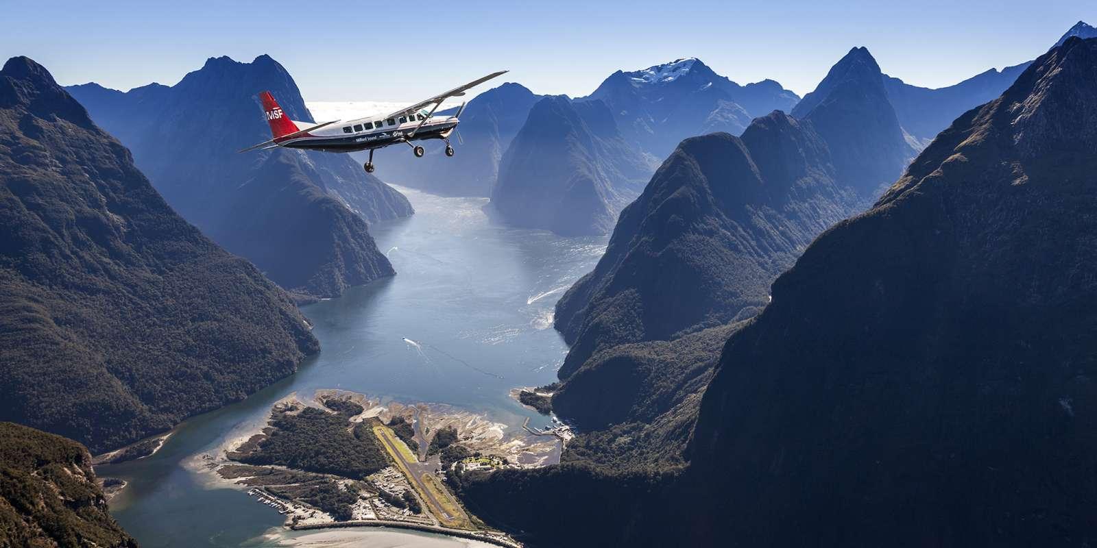 Milford Sound by plane