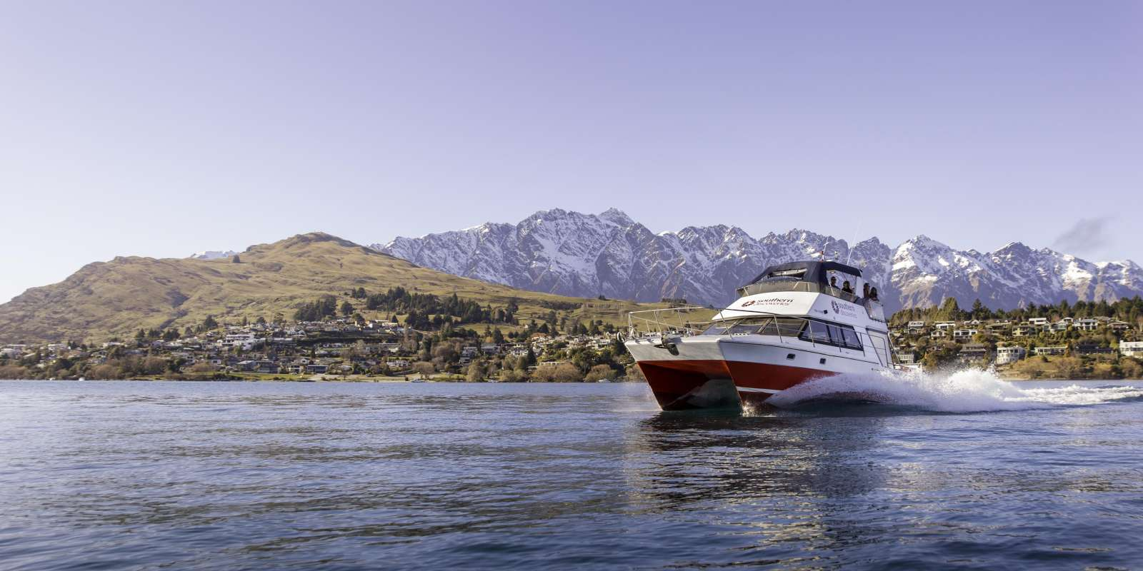 Cruise on Lake Wakatipu with Southern Discoveries