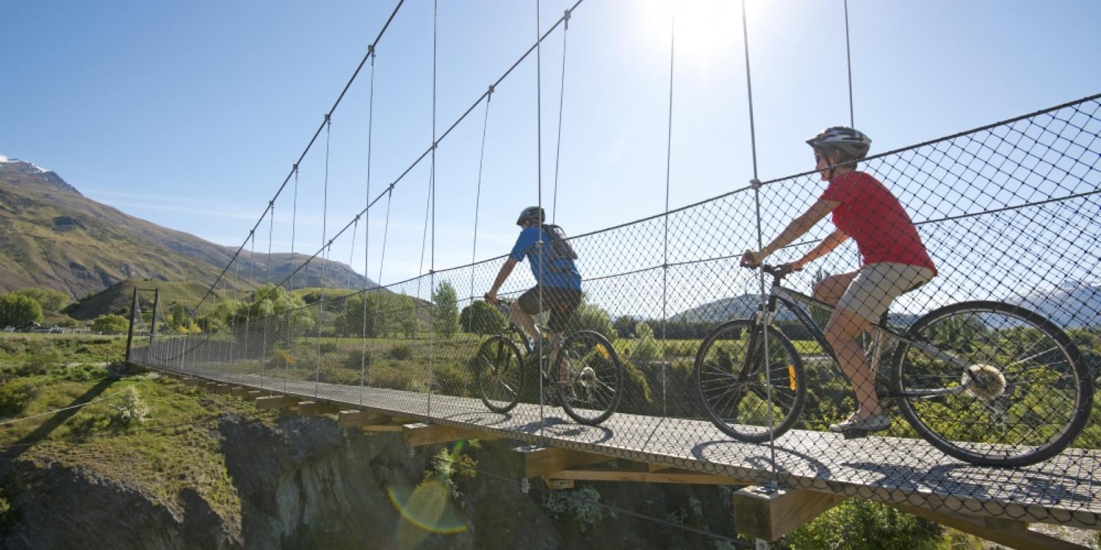 Mountain biking beginner Queenstown Queenstown Trail