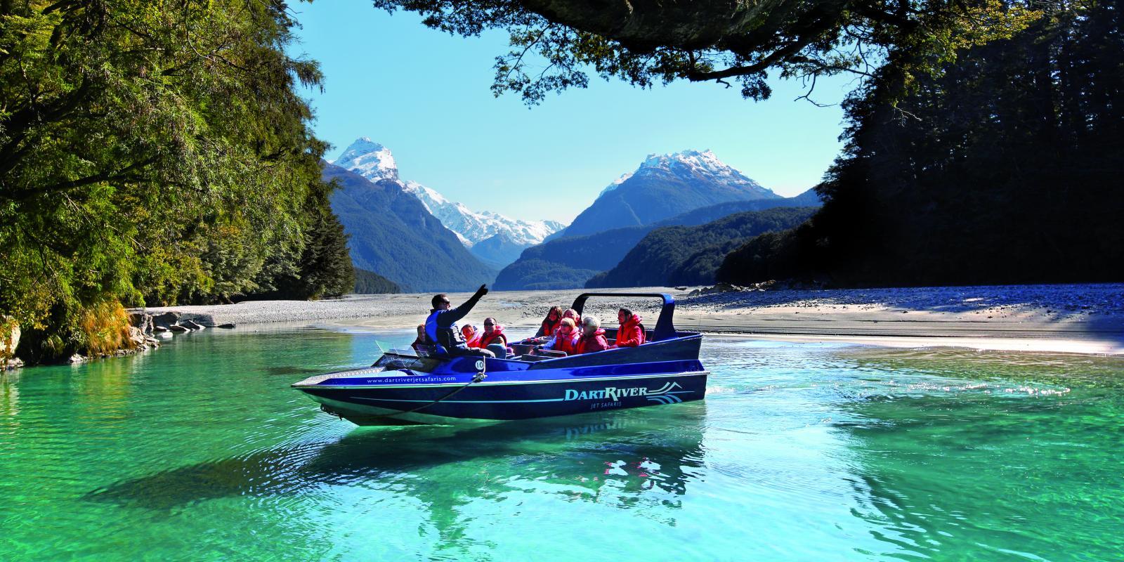 Dart River Jet Boat Wilderness Experience Queenstown