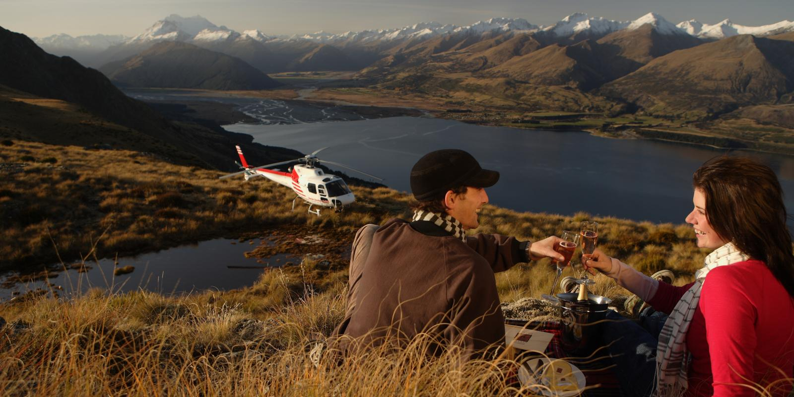 Pamper Luxury Treat Helicopter  Picnic Queenstown