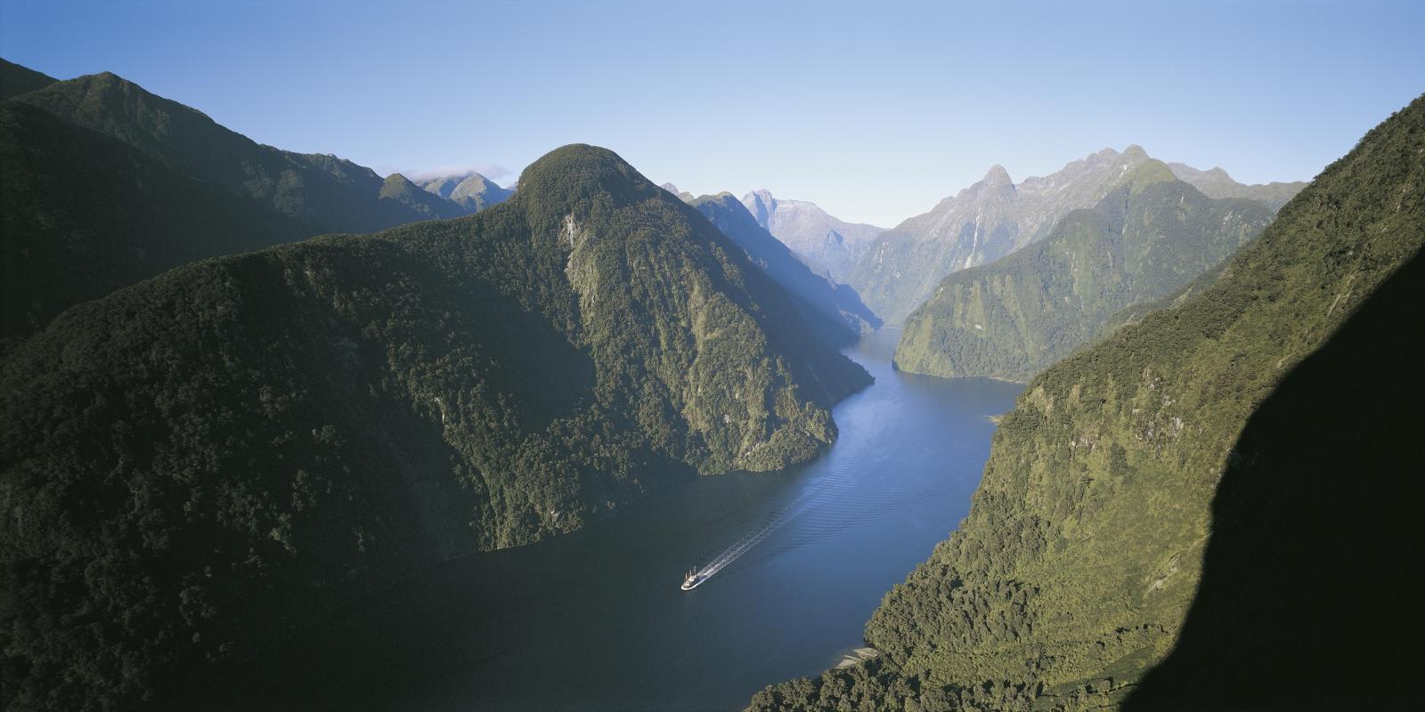 Doubtful Sound Cruise with Real Journeys
