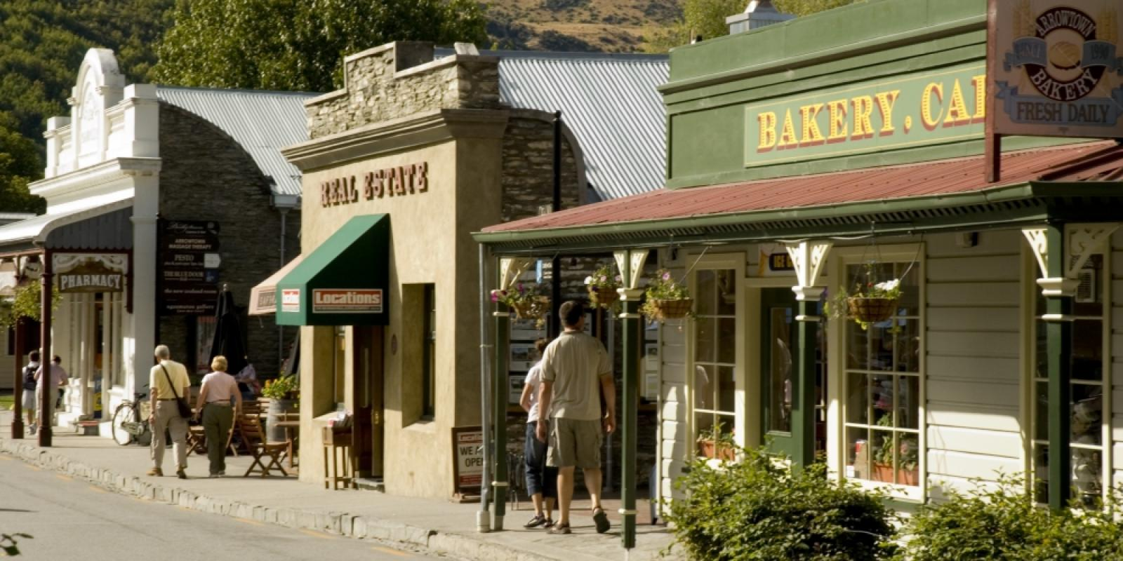 Arrowtown cafes and retail