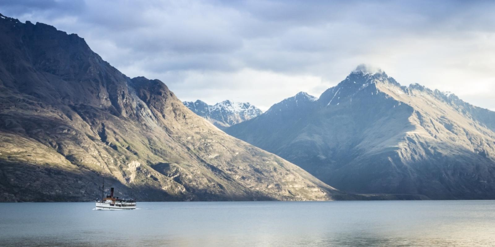 Earnslaw on Lake Wakatipu