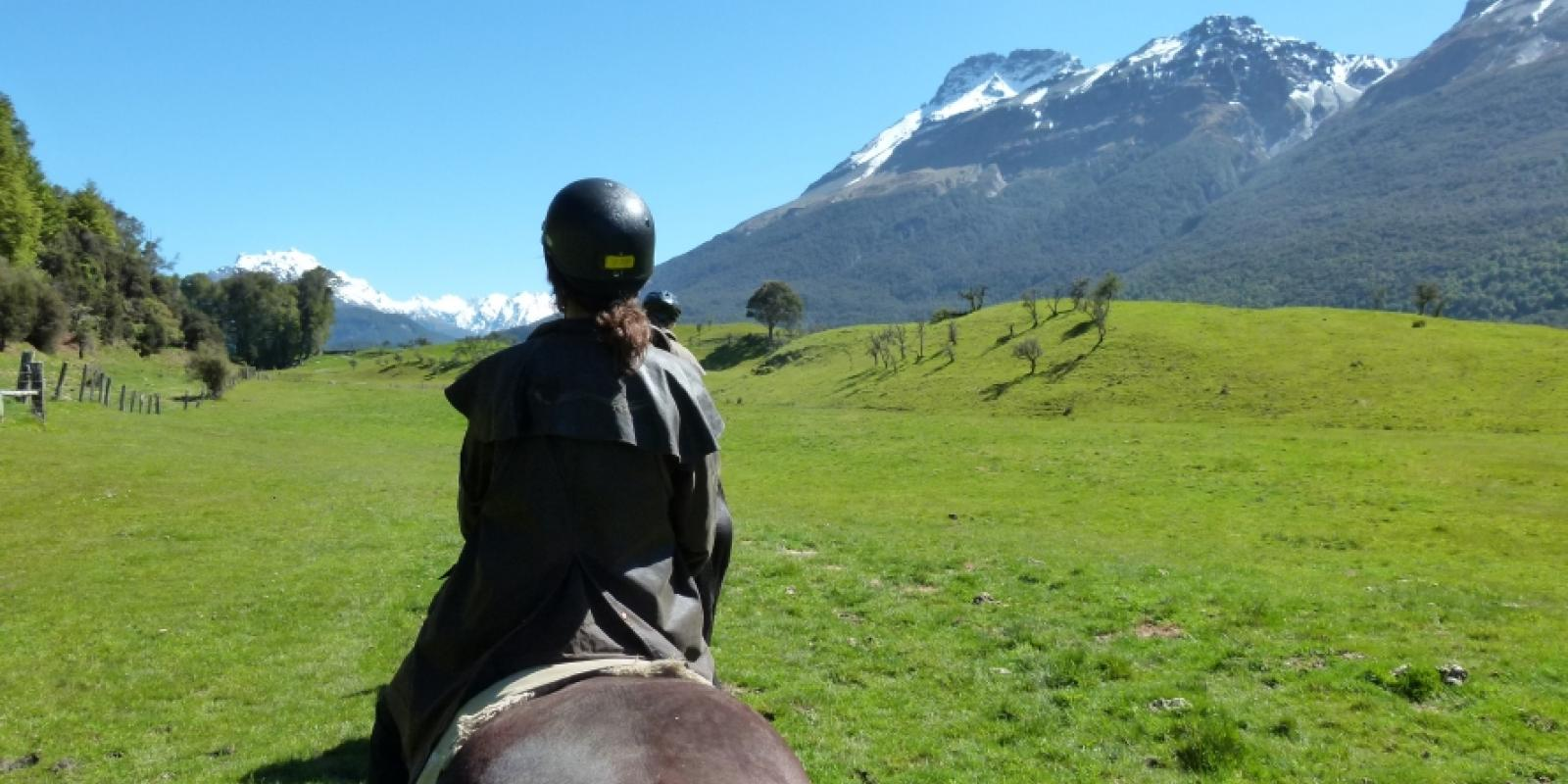 Queenstown horseriding activity Glenorchy