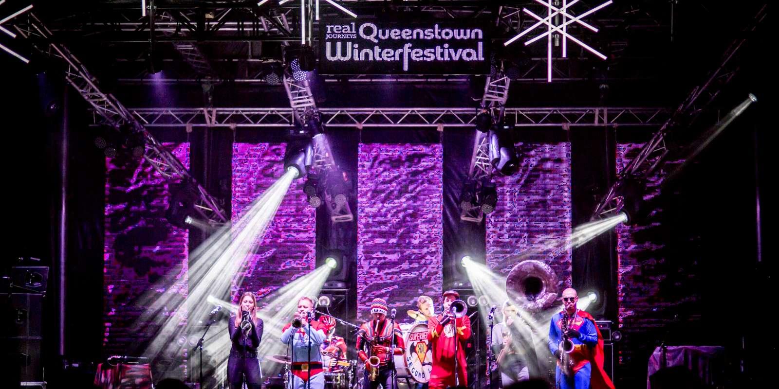 Queenstown Winter Festival live entertainment