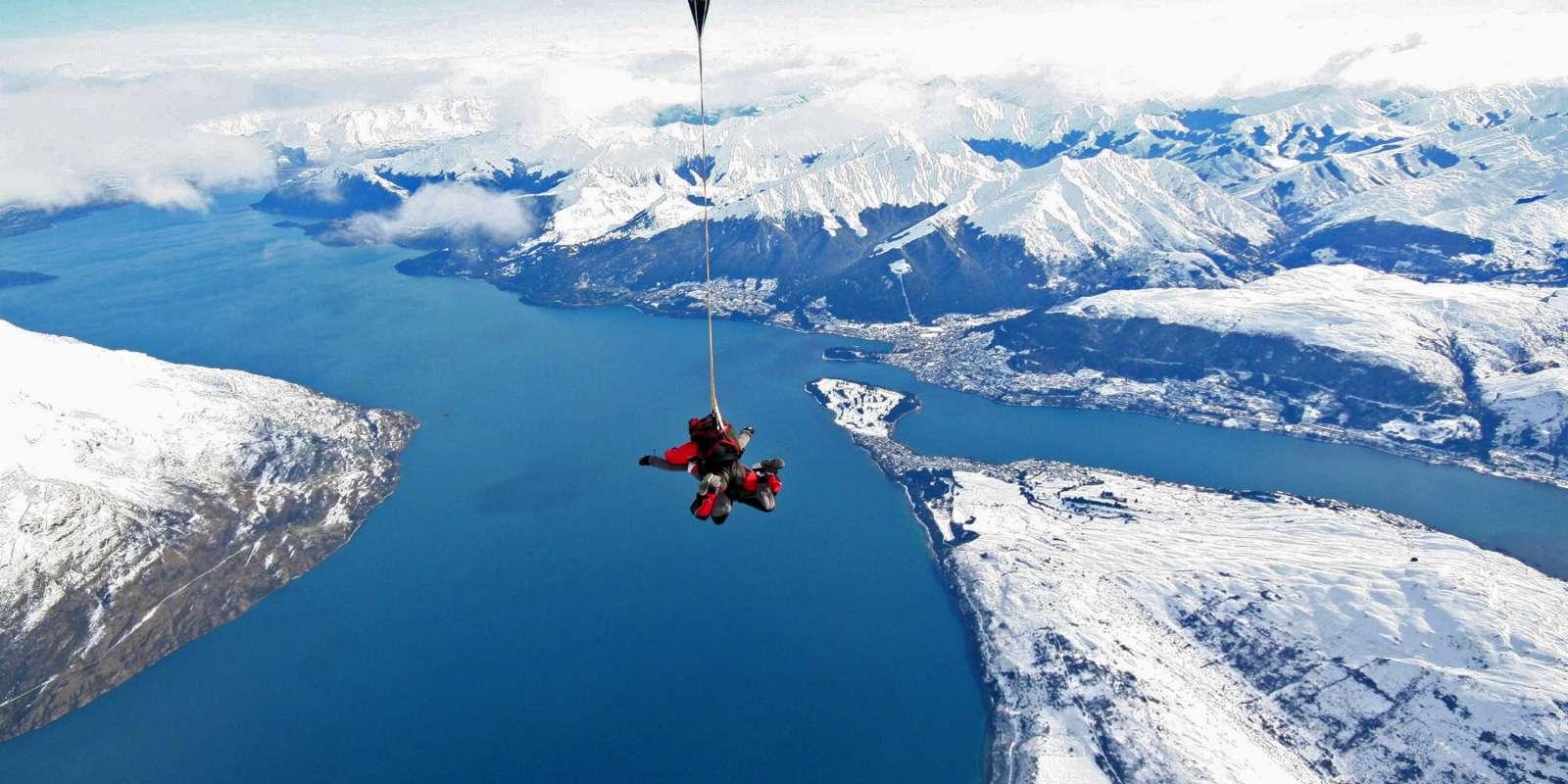 Nzone Skydive Queenstown Winter