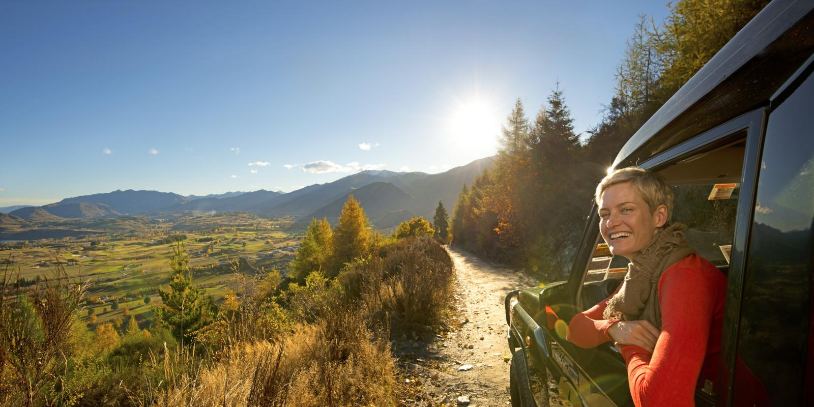 4WD tour on Tobins Track in Arrowtown