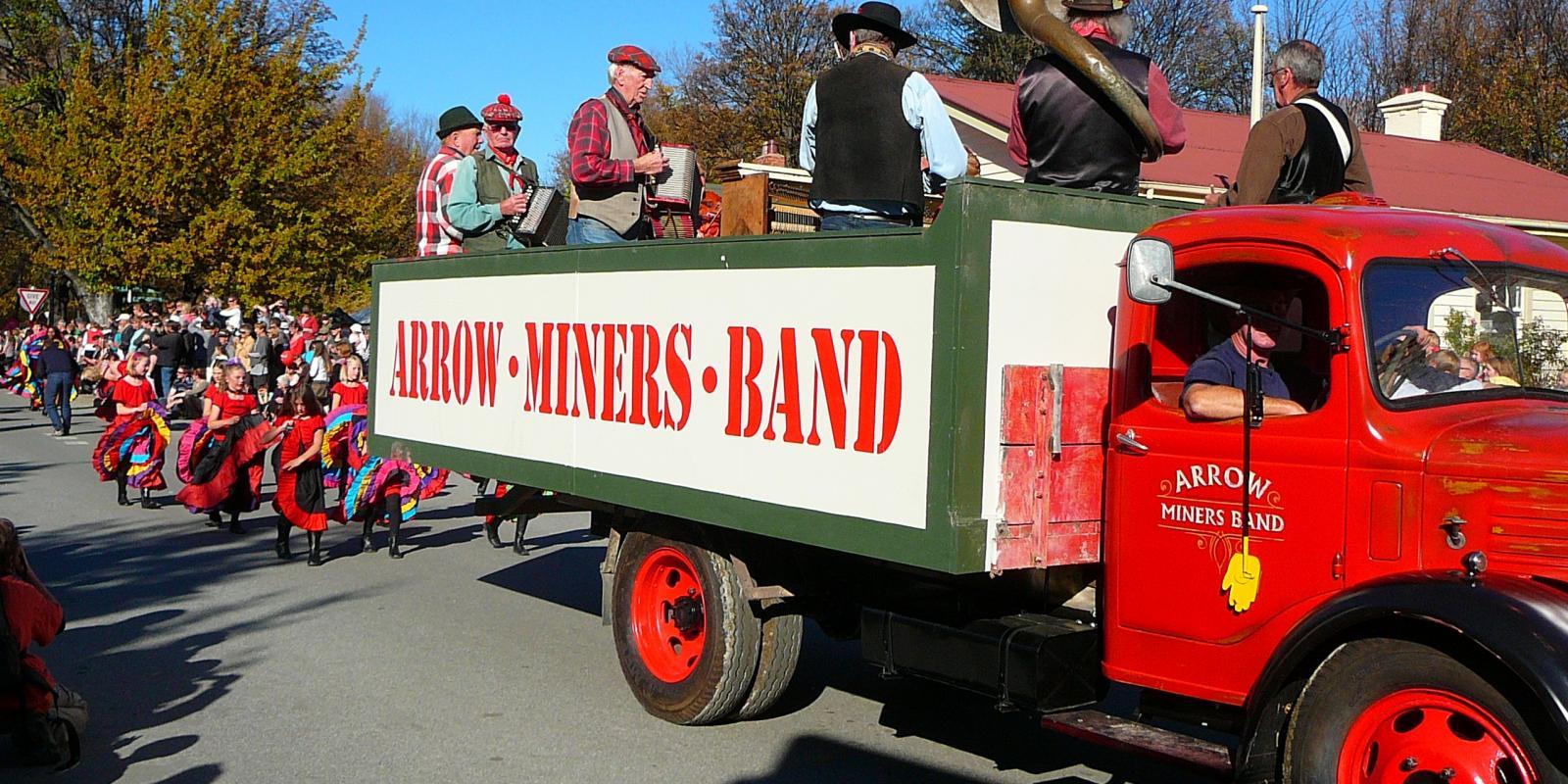 Arrowtown Autumn Festival Parade
