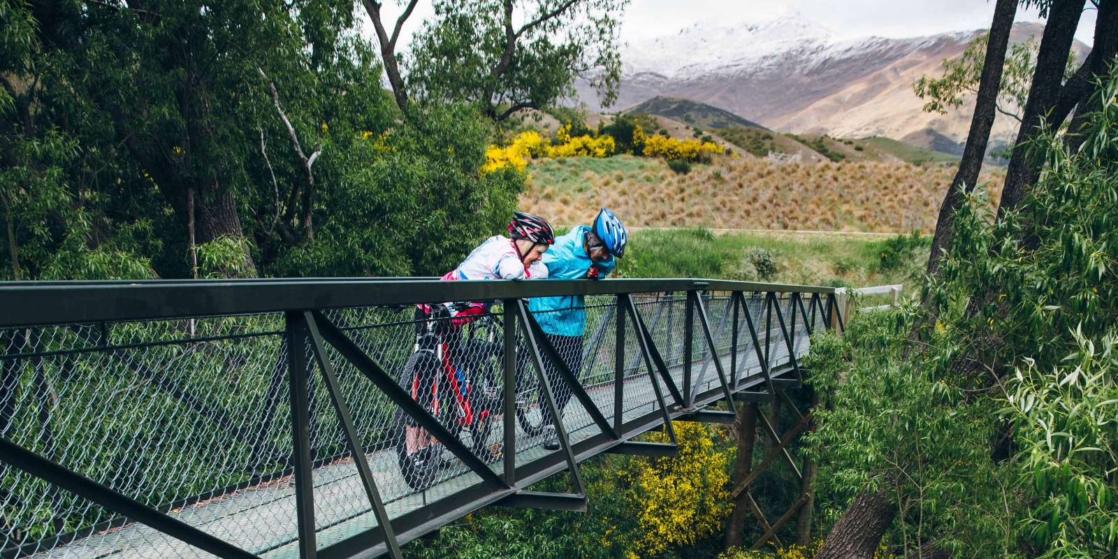 Cycling the Gibbston River Trail in Queenstown