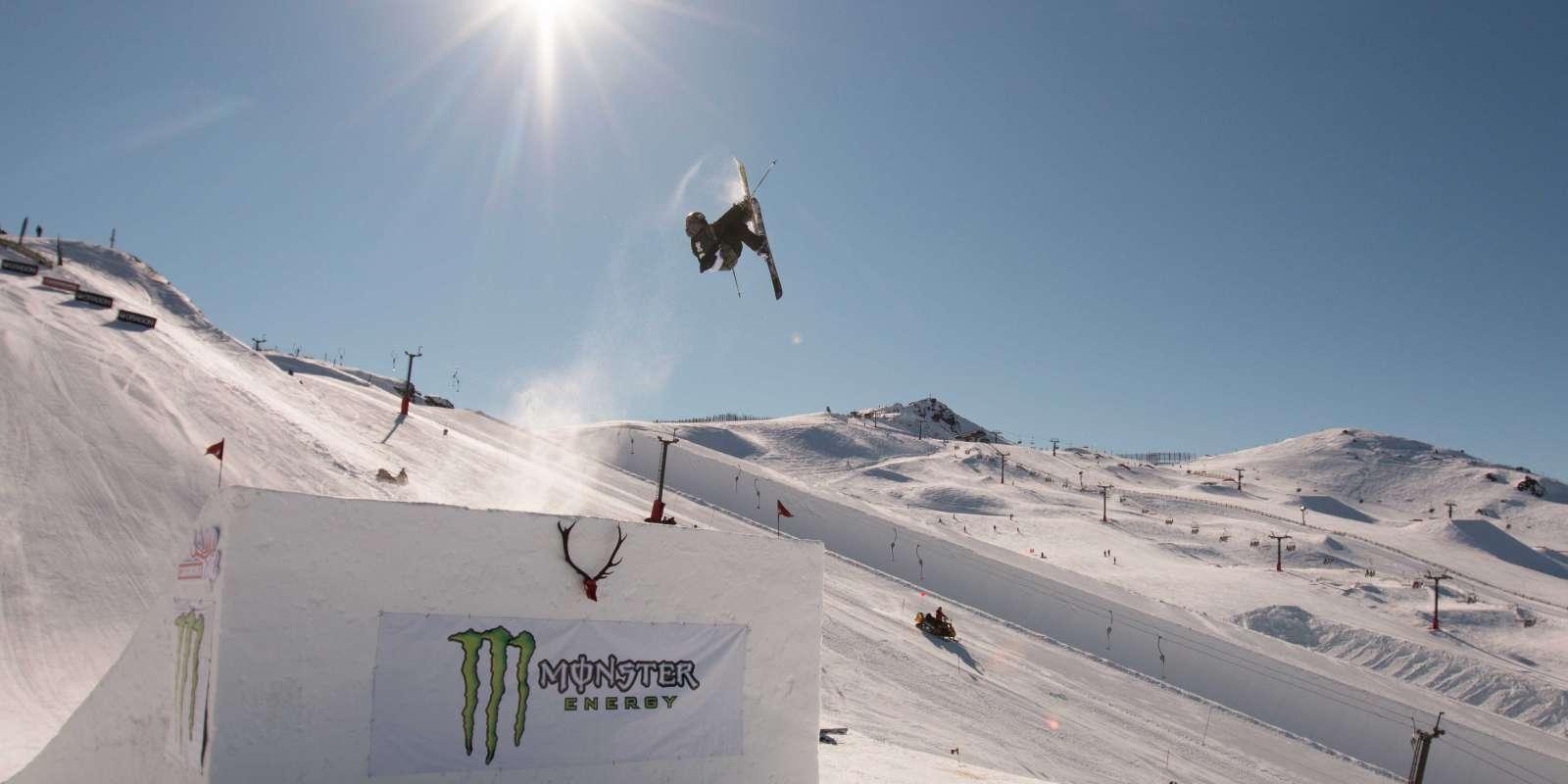 Monster Energy Jossi Wells Big Air Invitational at Cardrona Alpine Resort