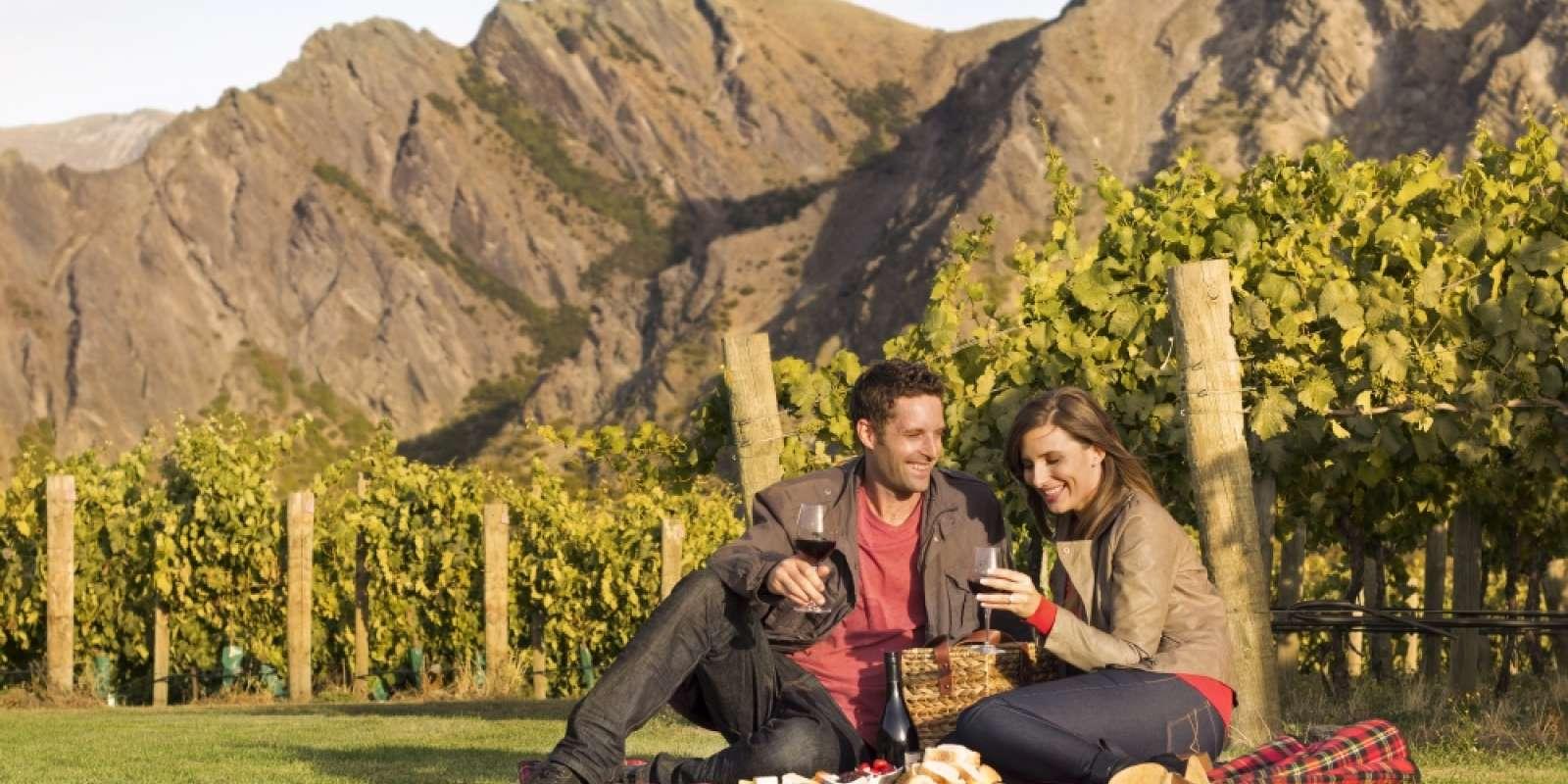 Wine tasting at Brennan Wines