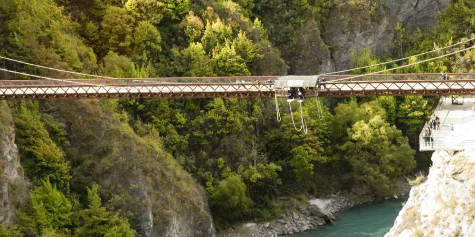 The Kawarau Suspension Bridge