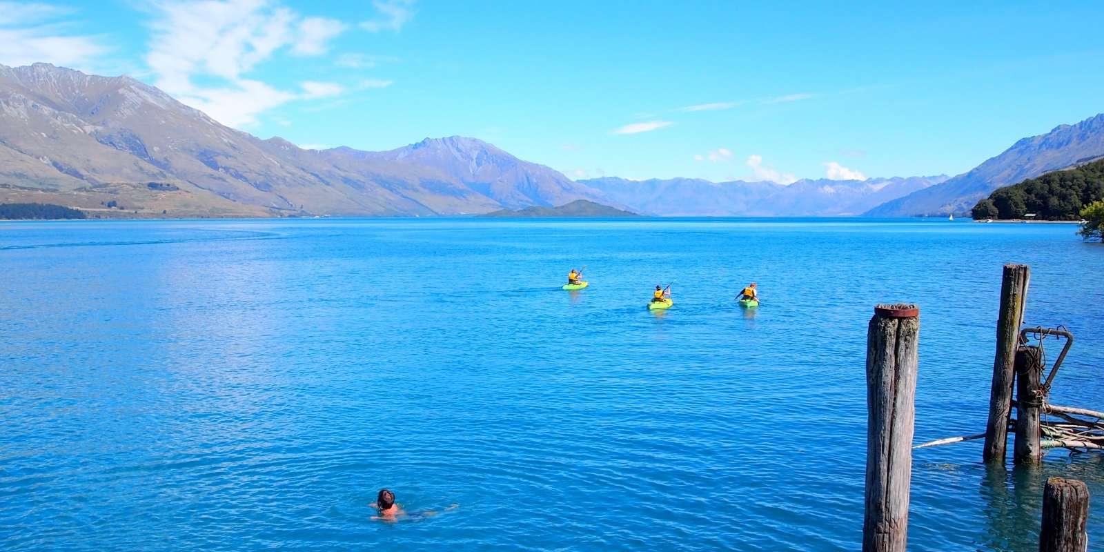 Kayak Lake Wakatipu