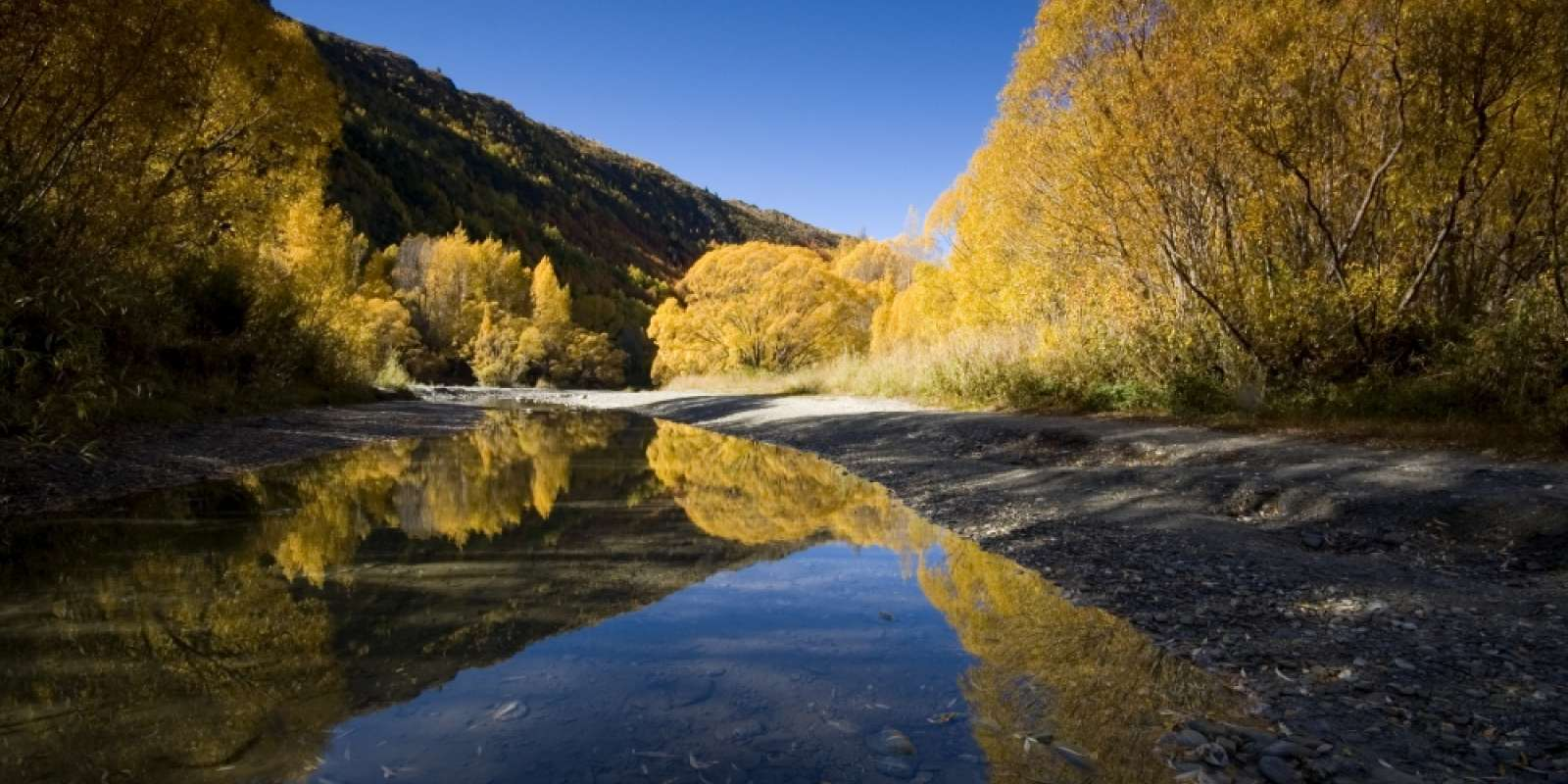 The Arrow River in Autumn, Arrowtown