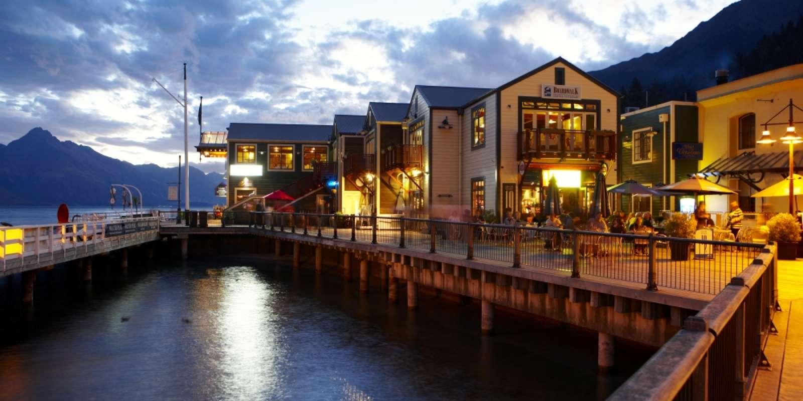 Steamer Wharf at Dusk