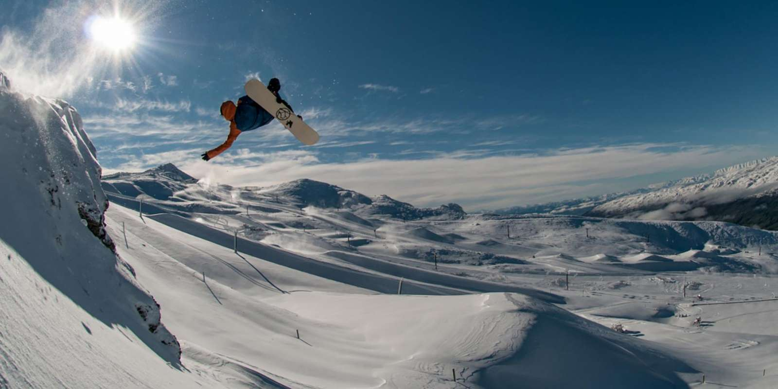 Stef Zeestraten at Cardrona Alpine Resort