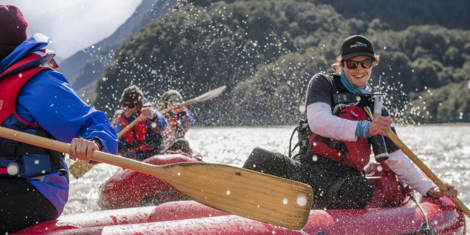 Funyaking on the Dart River