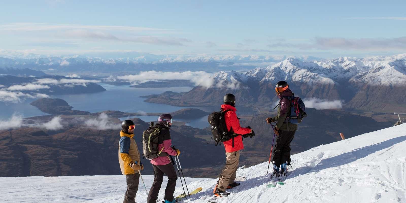 View from Treble Cone Ski Area