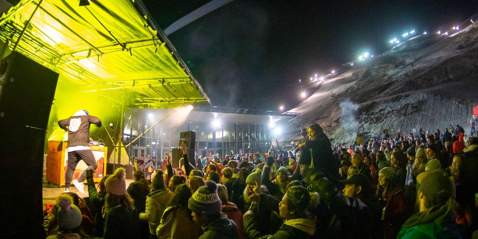 Elevate Night Ski Party