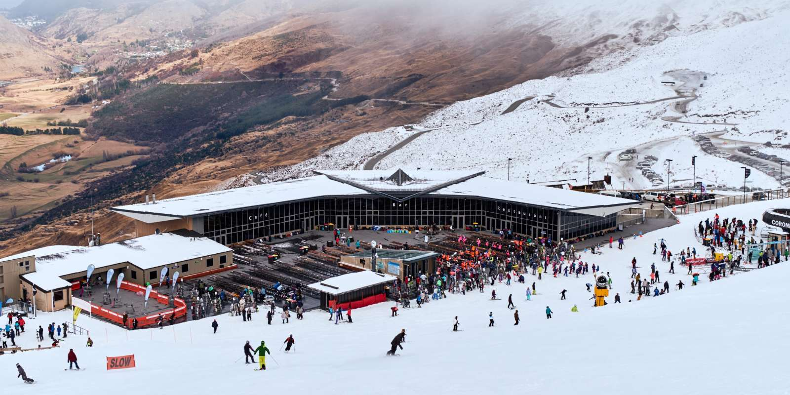 Coronet Peak Base Building