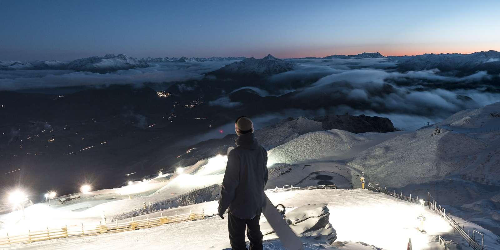 Coronet Peak by Night