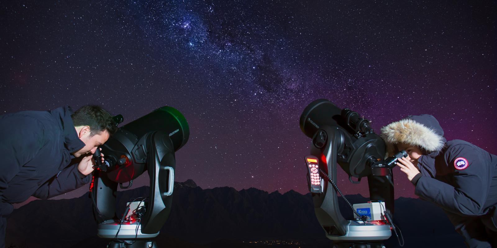 Stargazing Experience Skyline Queenstown