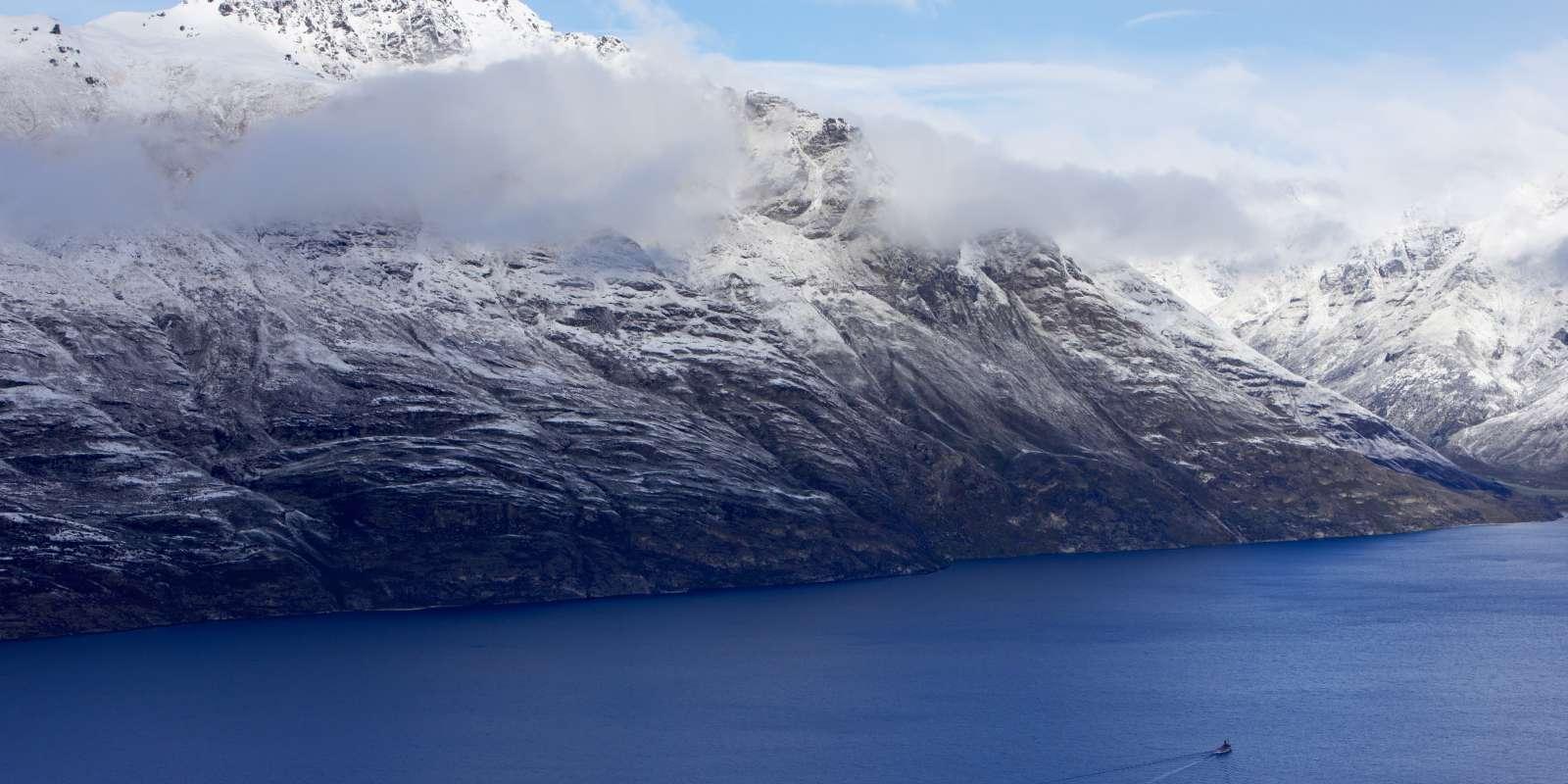 Lake Wakatipu in Winter