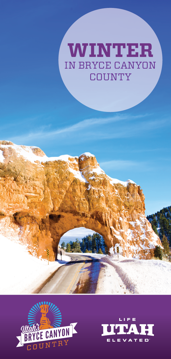 Try cross-country skiing and snowshoeing in Dixie National Forest within Bryce Canyon Country during the winter.