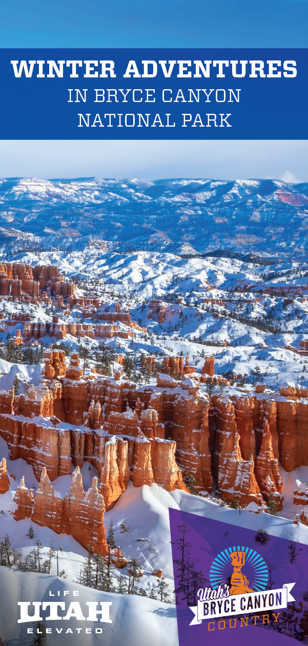 The Bryce Canyon National Park Area has many winter activities perfect for any adventure-seeker.