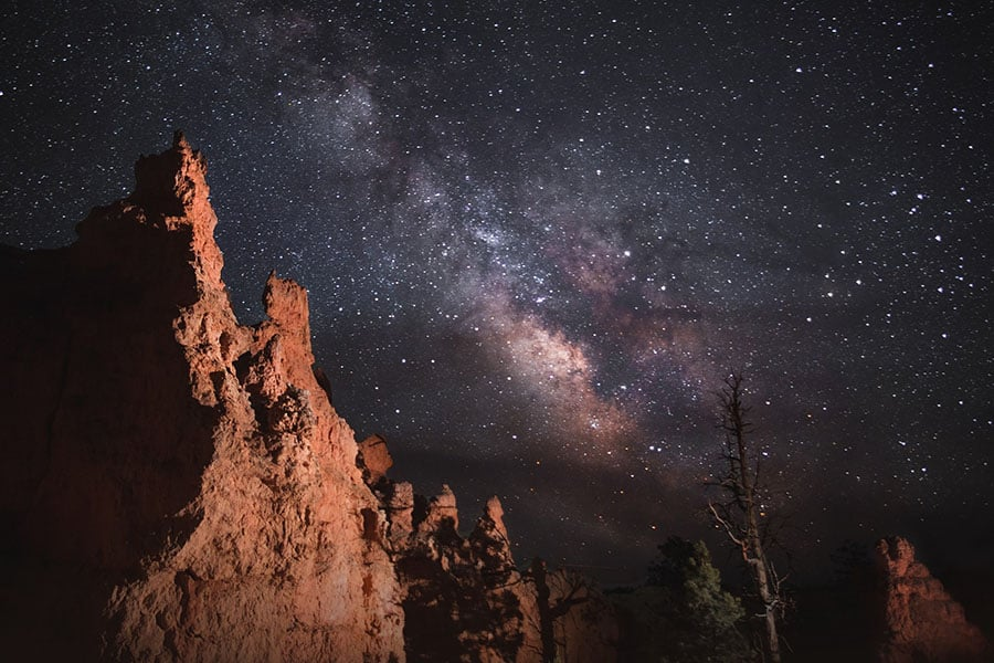 Night Sky in Bryce Canyon National Park