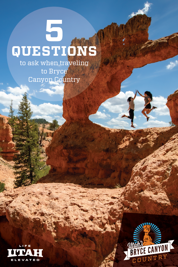 Top questions about Bryce Canyon. Making your trip planning process easier.