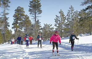 Bryce Canyon area cross country skiing