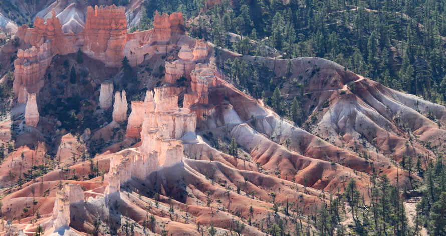 Bryce Canyon views and trails