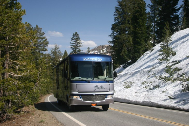 Traveling through the forest along this route to Bryce Canyon