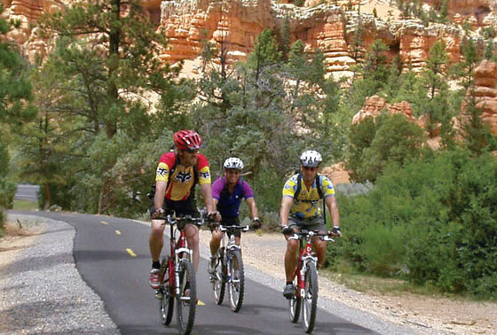 Mountain Biking in the Bryce Canyon Country region