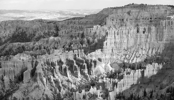 Bryce Canyon National Park historic view