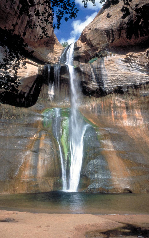 Calf Creek Falls in Southern Utah
